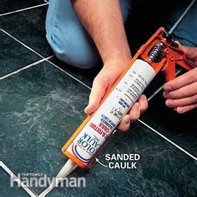 Bathroom Tile Grout Repair Products by How To Repair Grout That S Cracking Home Ideas Grout