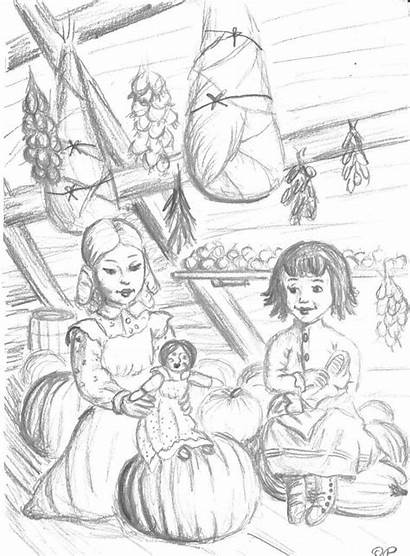 Coloring Sheets Prairie Pages Party Ingalls Laura