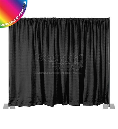pipe and drape kits 8ft high pipe and drape backdrop kits fixed height