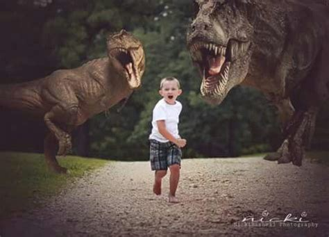 dinosaurs jurassic park  boy photography