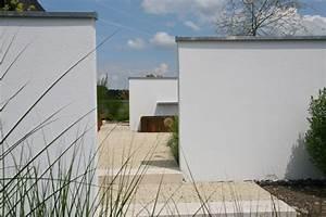 Gartenzaun Aus Beton : sichtschutz im garten teil 1 zaun mauer sichtschutzelemente ~ Sanjose-hotels-ca.com Haus und Dekorationen