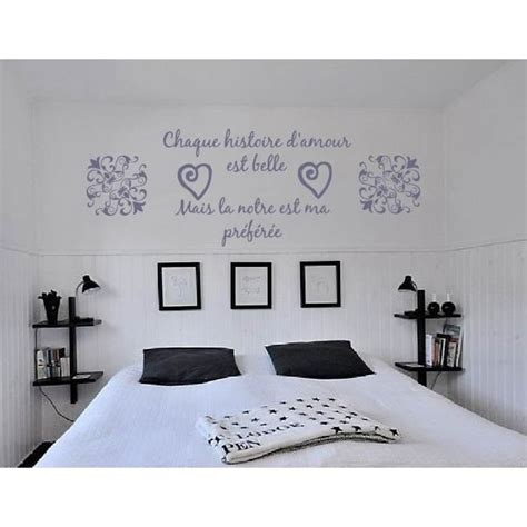 sticker citation chambre stickers muraux citations amour images