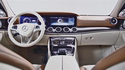 mercedes e class interior 2017 mercedes e class price interior and future cabrio