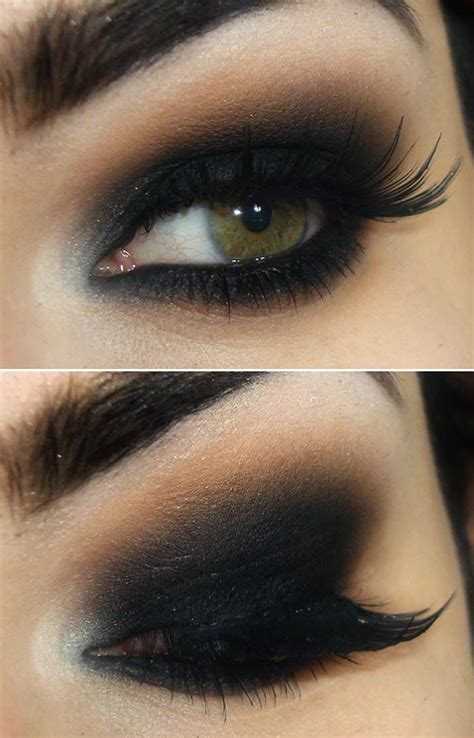 Maquillage Yeux Smoky Eyes