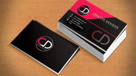 Professional Business Card Design Tutorial In Adobe Business Letter Format Xerox Card Size Vista Word 2010 Templates High Quality Flash Drive Free Transportation Letterhead On Illustrator