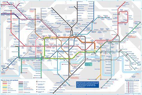 london underground tube map london england mappery