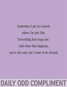 258 best daily odd compliments images on Pinterest   Odd ...