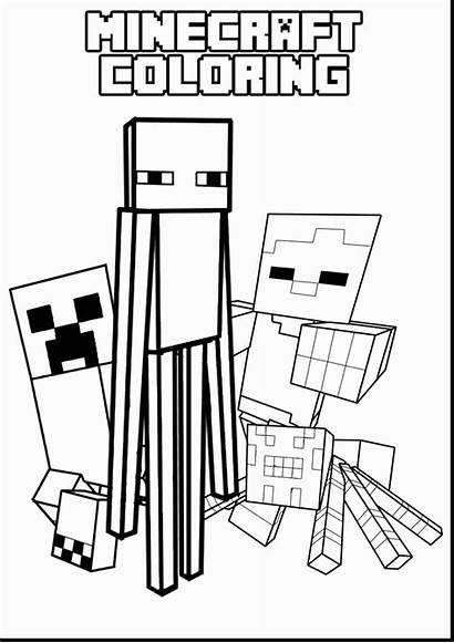 Creeper Minecraft Coloring Pages Face Printable Getcolorings