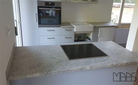 Köln Ikea Küche Mit Kashmir White Granit Arbeitsplatten