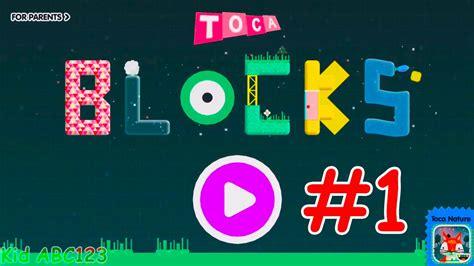 toca blocks game toca boca part  education apps