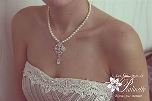 bijoux mariage les fantaisies de pralinette bijoux With robe fourreau combiné avec swarovski collier pas cher