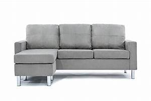 cheap divano roma furniture modern microfiber sectional With small spaces configurable sectional sofa grey