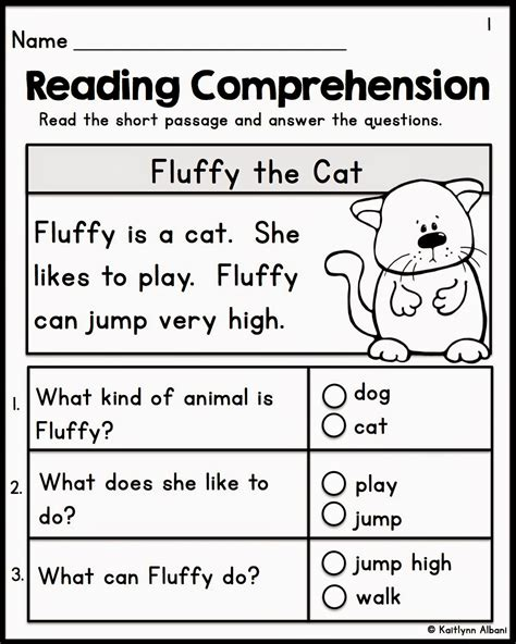 free reading comprehension worksheets for year 1 free reading comprehension worksheets grade 2
