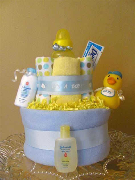 bath time boy duck diaper cake baby shower decoration