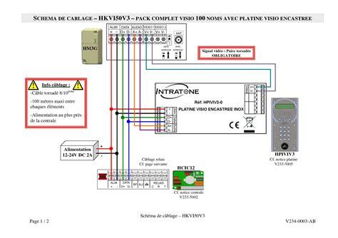 Schema Cablage Ventouse Electromagnetique