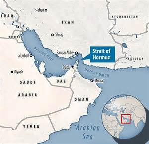 iran  block  major oil transit chokepoint strait