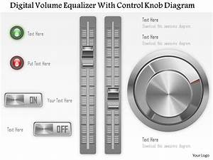 1114 Digital Volume Equilizer With Control Knob Diagram
