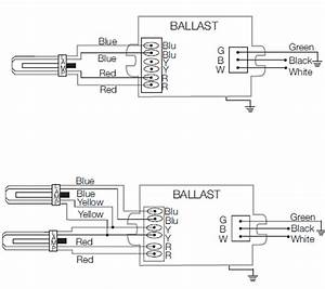 Sylvania Electronic Ballast Wiring Diagram