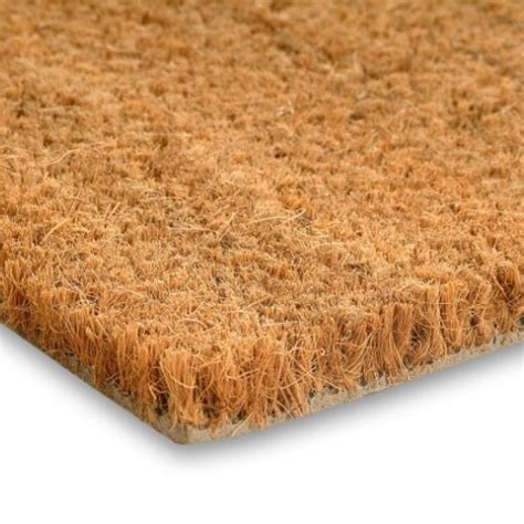 coconut doormat heavy duty commercial grade pvc backed coir matting cut to