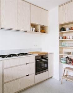 Cuisine En Marbre : photos cuisine bois la preuve que les cuisines en bois sont contemporaines elle d coration ~ Melissatoandfro.com Idées de Décoration