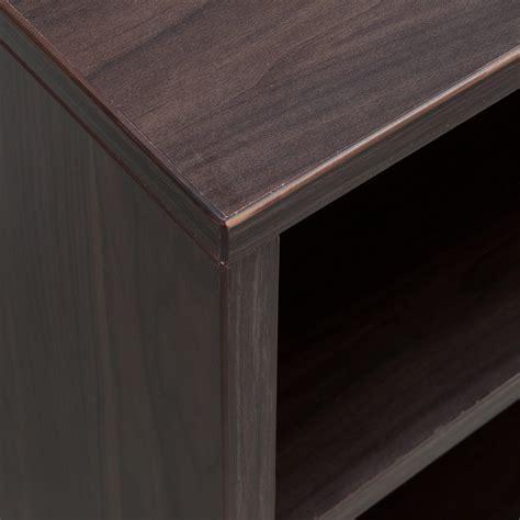 30 inch white bookcase denmark series 30 inch bookcase american walnut