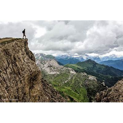 Passo Falzarego Cortina d'Ampezzo Italy - A viewpoint on