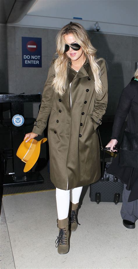 Khloe Kardashian - LAX Airport in Los Angeles, May 2015 ...