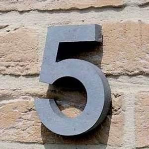Numéro Maison Design : num ros de maison en pierre votre num ro de rue en ~ Premium-room.com Idées de Décoration