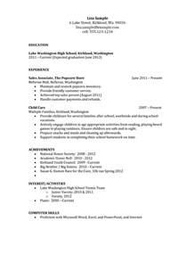 basic resume exles for highschool students download basic resume templates for high students haadyaooverbayresort com