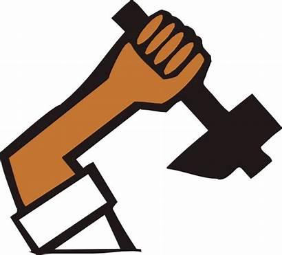 Labor Clip Clipart Manual Vector Clker Svg