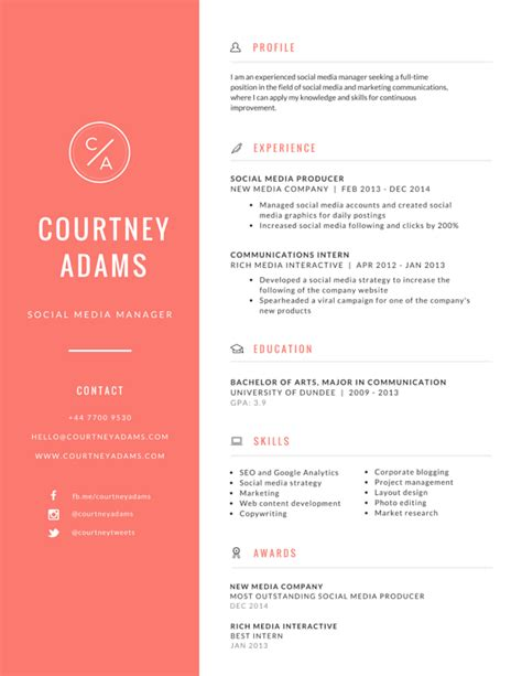 Resume Template Maker by Canva Resume Templates Resumes Curriculums Curr 237 Culum