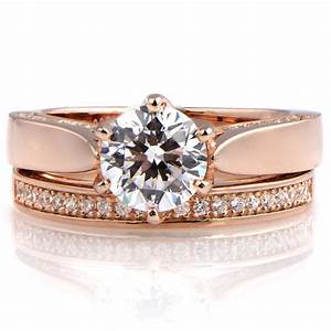 rose gold rings rose gold rings with cz With gold cz wedding rings