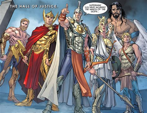 the gods of olympus injustice gods among us comicnewbies