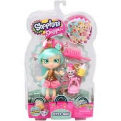 Walmart Com Bedding Sets by Moose Toys Shopkins Shoppies S2 Doll Peppa Mint Walmart Com