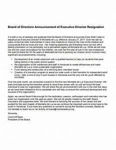 Template For Employee Write Up 14 Announcement Of Resignation Templates In Pdf Doc
