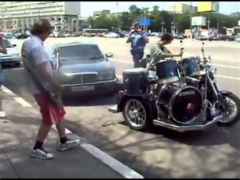 bremen musicians  russia part  motorcycle