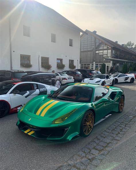 Ferrari makes 488 pista official with 711 hp, racing tech, photos. Green and Yellow Ferrari 488 Pista Shows Savage Spec - autoevolution