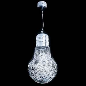 Pendant lighting bulbs : Arrow giant retro light bulb ceiling pendant large