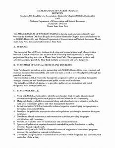 memorandum of understanding template sadamatsu hp With template for a memorandum of understanding
