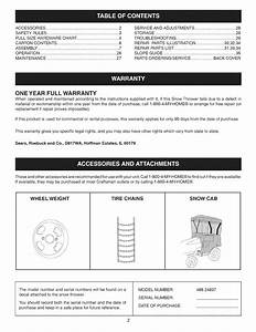 Page 2 Of Craftsman Snow Blower 486 24837 User Guide