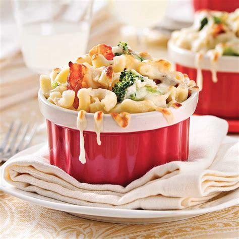 cuisine recettes pratiques macaronis au fromage brocoli et bacon recettes