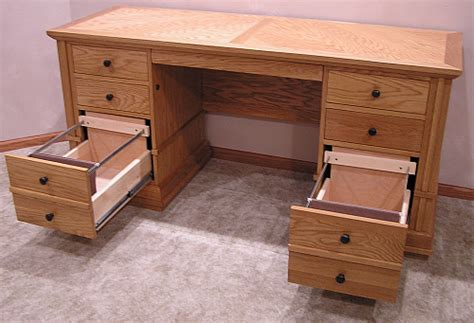 Desk With File Drawers by Furniture