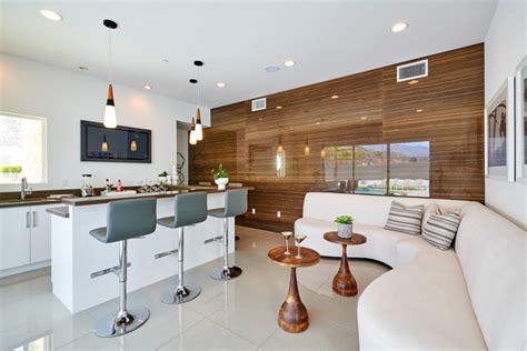 outstanding mid century modern home bar design