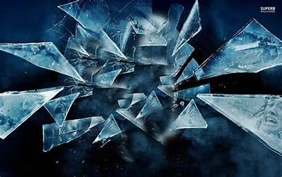 Shattered Glass Dark Broken Digital Scenes Pieces