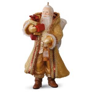 2016 father christmas hallmark keepsake miniature ornament hooked on hallmark ornaments