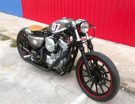 2008 Harley Davidson Sportster Cafe Bobber For Sale On