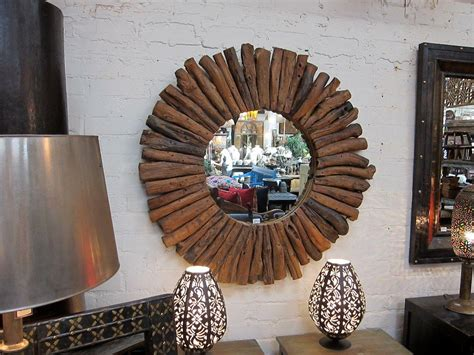 This diy swirl mirror wall decor was also made using easily accessible and affordable items to keep the result budget friendly! Round Wood Framed Mirrors | Best Decor Things