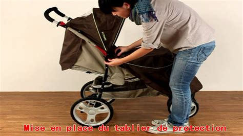 bebeachat com poussette bébé 3 roues combiné 2 en 1