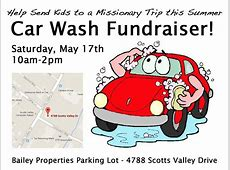 Car Wash Fundraiser for Calvary Chapel Youth Summer Camp