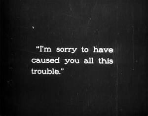 I'm Sorry Quotes | SayingImages.com